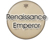 """Remo 12"""" Renaissance Emperor tom/snarevel RE-0012-SS"""
