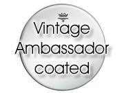 """Remo 10"""" """"Vintage-A"""" Ambassador ruw wit tomvel VA-0110-00"""