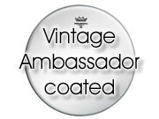 """Remo 15"""" """"Vintage-A"""" Ambassador ruw wit tomvel VA-0115-00"""