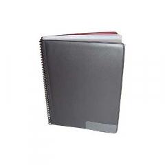Star marsboekje 145 zwart, 25 tassen 14x19cm