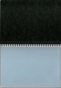 Star marsboekje zwart, 10 tassen 9x13cm