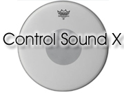 """Remo 12"""" Control Sound tom/snarevel met zwarte dot aan onderzijde CX-0112-10"""