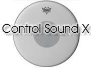 """Remo 13"""" Control Sound tom/snarevel met zwarte dot aan onderzijde CX-0113-10"""